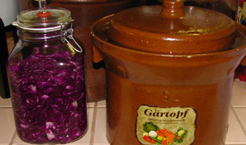 fermenting containers Dr Paul Choi kitchen sauerkraut recipe